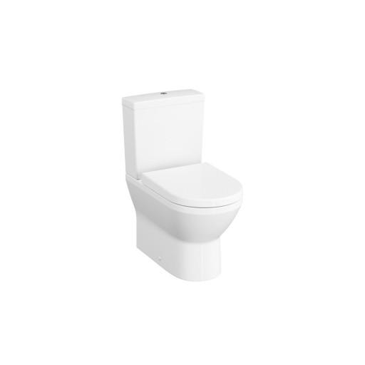 VitrA Integra Rimless Close Coupled Toilet - Closed Back