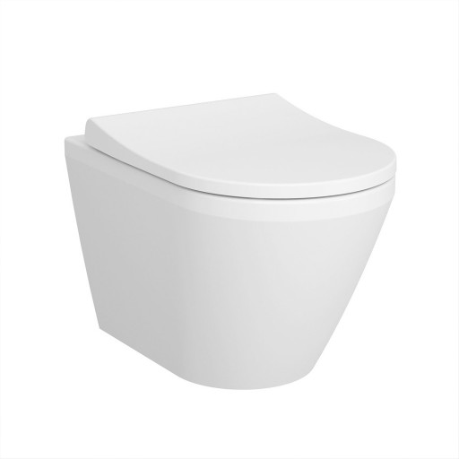 VitrA Integra Wall Hung Toilet - Hidden Fixation - 540MM Projection