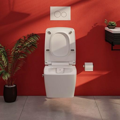 Vitra M-Line Aquacare Rimless Wall Hung Combined Bidet Toilet