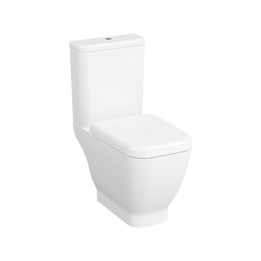 VitrA Shift Close Coupled Toilet - Open Back