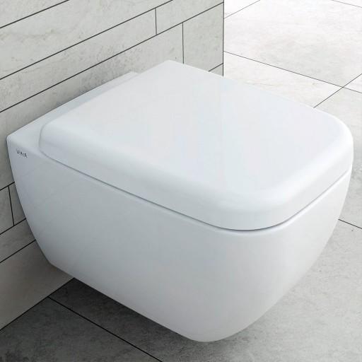 VitrA Shift Rimless Wall Hung Toilet + Soft Close Seat