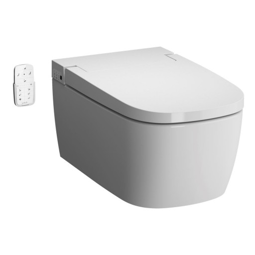 Vitra V-Care Essential Rimless Wall Hung Smart Combined Bidet Toilet