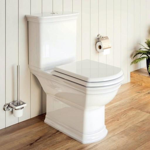 VitrA Valarte Close Coupled Toilet - Open Back