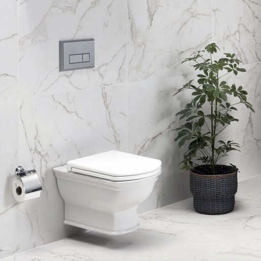VitrA Valarte Rimless Wall Hung Toilet - 560MM Projection