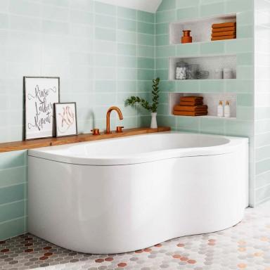 Corner & Back to Wall Baths