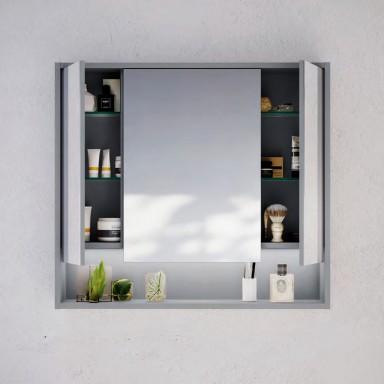 Mirrored Storage Cabinets